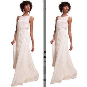 BHLDN Ivory Jayne Maxi Formal Dress